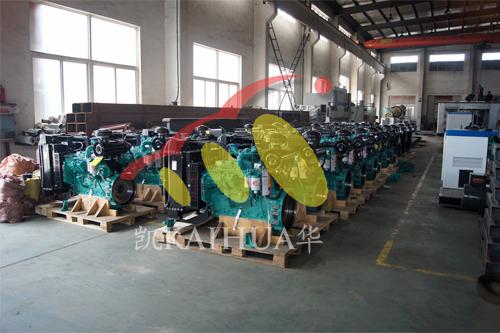 南亚客户订购的100台发电机组正在生产中 公司新闻 第1张