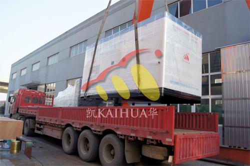 宜昌电气公司2台500KW康明斯机组今日成功出厂 发货现场 第4张