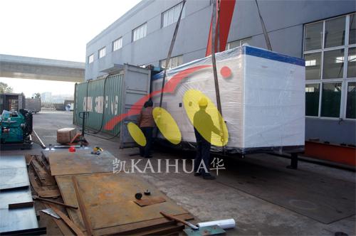 出口哈萨克斯坦2台康明斯发电机组今日成功出厂 发货现场 第3张