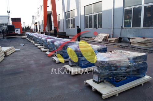 出口刚果25台小型发电机组今日成功出厂 发货现场 第1张