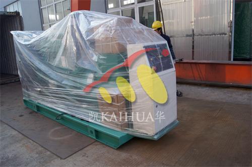 出口哈萨克斯坦2台康明斯发电机组今日成功出厂 发货现场 第2张