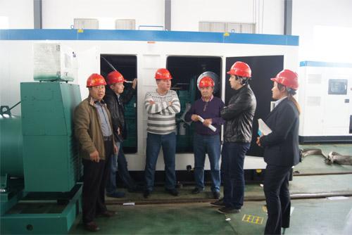 哈萨克客户来访我公司采购多台柴油发电机组 公司新闻 第2张