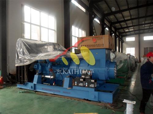 西藏水利800KW奔驰柴油发电机组今日成功出厂