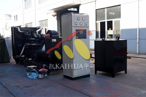 江苏化工1台600KW上柴发电机组今日成功出厂 发货现场 第1张