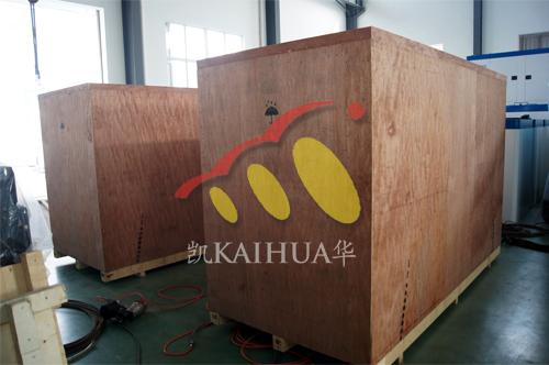 江苏金属制品公司2台250KW沃尔沃发电机组今日成功出厂 发货现场 第2张