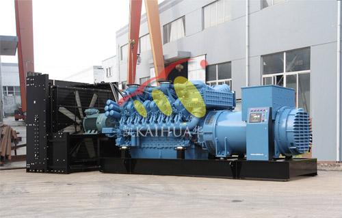 青海油田1800KW奔驰发电机组完成生产 公司新闻