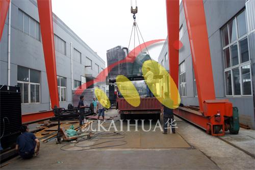 出口印尼6台500KW康明斯并机机组今日成功出厂 发货现场 第3张
