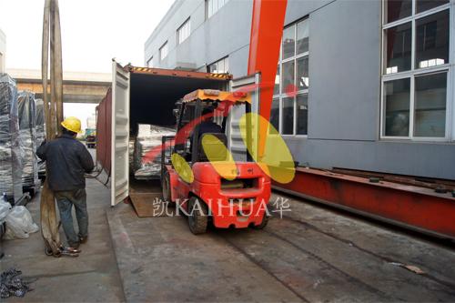 出口印尼9台柴油发电机组今日成功出厂 发货现场 第2张