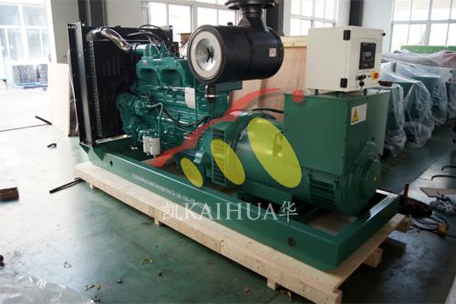 出口东非1台400KVA康明斯发电机组今日成功出厂 发货现场 第1张