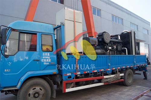 江苏化工1台600KW上柴发电机组今日成功出厂 发货现场 第3张
