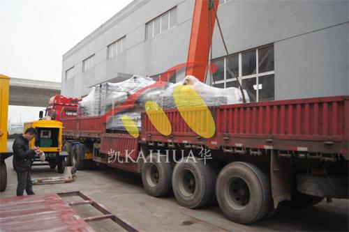 长沙酒店2台500KW上柴发电机组今日成功出厂 发货现场 第4张