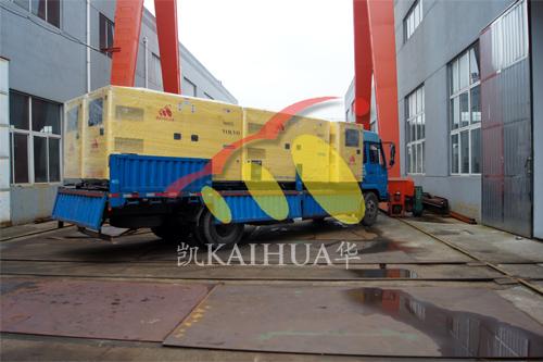 安徽亳州自来水公司5台沃尔沃静音机组今日成功出厂 发货现场 第3张