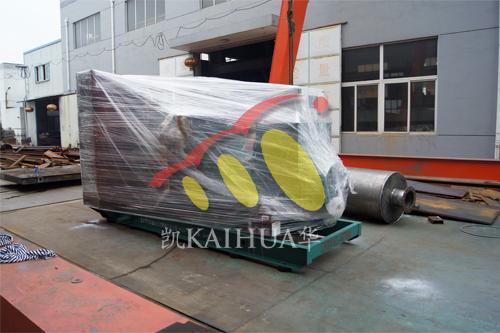 江西建筑公司1台800KW无动发电机组今日成功出厂 发货现场 第1张