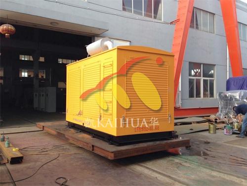 西昌建筑公司1台300KW防雨罩机组今日成功出厂 发货现场 第1张