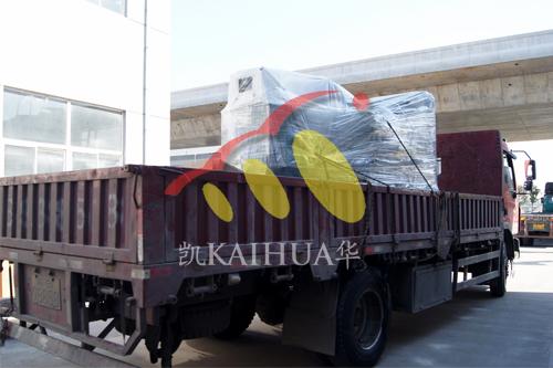 新疆路桥1台500KW沃尔沃发电机组今日成功出厂 发货现场 第3张