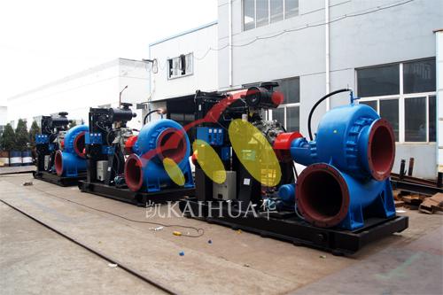 印尼3台水泵机组今日成功出厂 发货现场 第2张