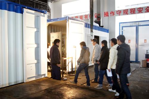 菲律宾客户来我工厂考察验收四台1200KW并机机组 公司新闻 第3张