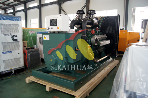 出口朝鲜1台500KW发电机组今日成功出厂 发货现场 第2张