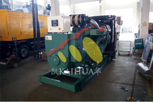 新疆路桥1台500KW沃尔沃发电机组今日成功出厂 发货现场 第1张