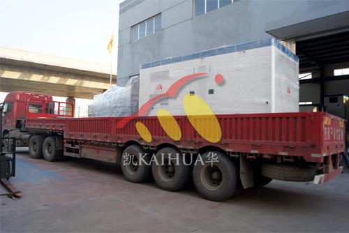 宜昌电气公司2台500KW康明斯机组今日成功出厂 发货现场 第5张