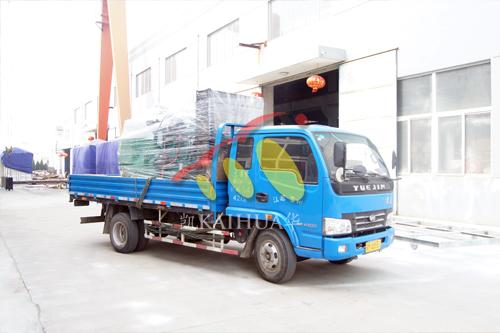 西安房产500KW康明斯发电机组成功出厂 发货现场 第2张