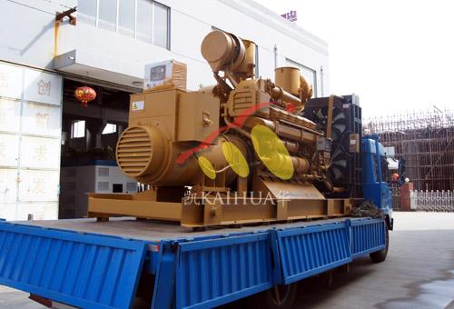 江苏化工1000KW济柴柴油发电机组成功出厂 发货现场 第1张