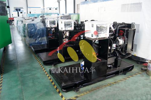 常州水泵厂3台80KW工程机械机组今日成功出厂