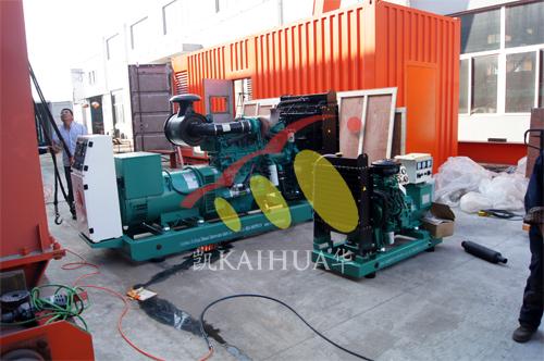 出口埃塞俄比亚2台发电机组今日成功出厂 发货现场 第1张