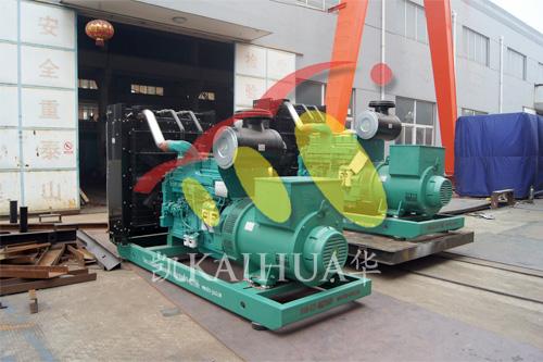 尼日利亚3台并机发电机组成功出厂