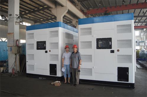 新加坡客户今日来工厂验收800KW康明斯静音机组 公司新闻 第2张