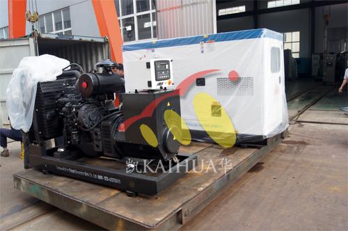 出口尼日利亚3台发电机组今日成功出厂 发货现场 第2张