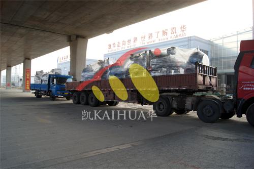出口印尼5台水泵机组今日成功出厂 发货现场 第3张