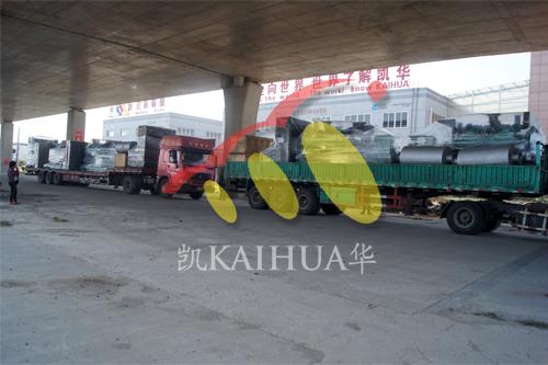 出口东南亚5台1500KW进口康明斯发电机组今日成功出厂 发货现场 第4张