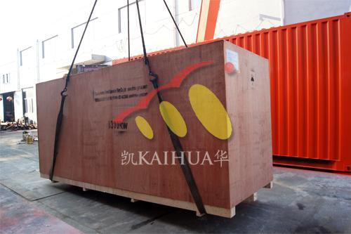 出口埃塞俄比亚2台发电机组今日成功出厂 发货现场 第2张