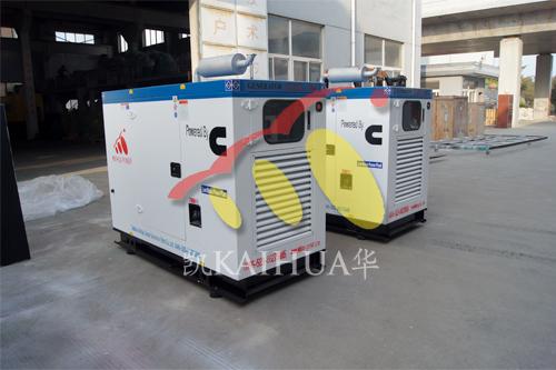 上海起重设备2台50KW康明斯防雨罩机组今日成功出厂 发货现场 第1张