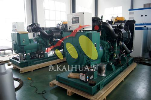 江苏金属制品公司2台250KW沃尔沃发电机组今日成功出厂 发货现场 第1张