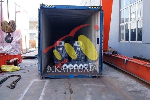 出口印尼6台珀金斯发电机组今日成功出厂 发货现场 第3张