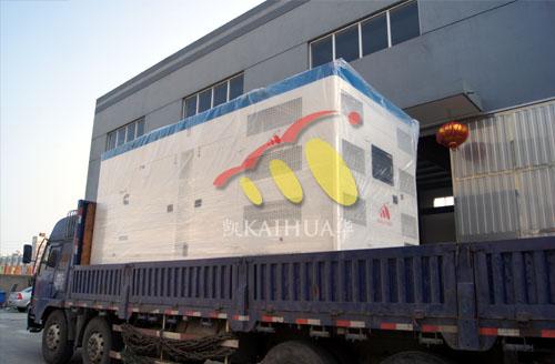 长沙市政600KW康明斯发电机组成功出厂 发货现场 第2张