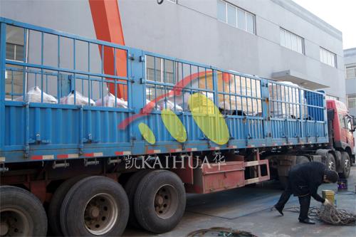 出口安哥拉一批发电机组今日成功出厂 发货现场 第4张