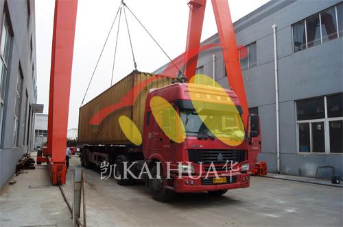 尼日利亚3台并机发电机组成功出厂 发货现场 第3张