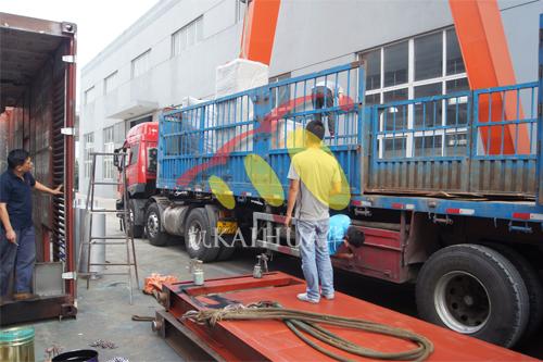河北廊坊1台500KW上柴ATS发电机组今日成功出厂 发货现场 第3张