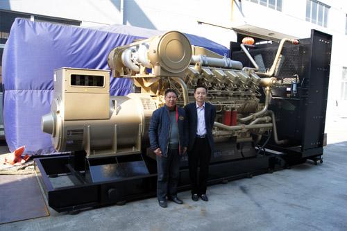 山东建材1300KW济柴发电机组成功出厂 发货现场 第2张