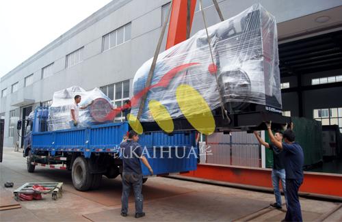 印尼3台水泵机组今日成功出厂 发货现场 第3张