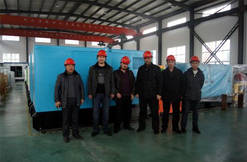 乌兹别克斯坦客户来访我工厂订购燃气发电机组 公司新闻 第1张