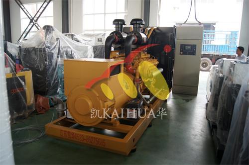 河北廊坊1台500KW上柴ATS发电机组今日成功出厂 发货现场 第1张