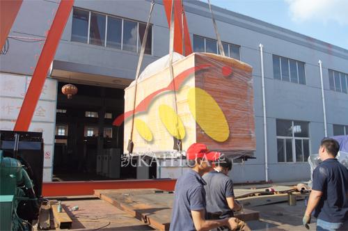 西昌建筑公司1台300KW防雨罩机组今日成功出厂 发货现场 第2张