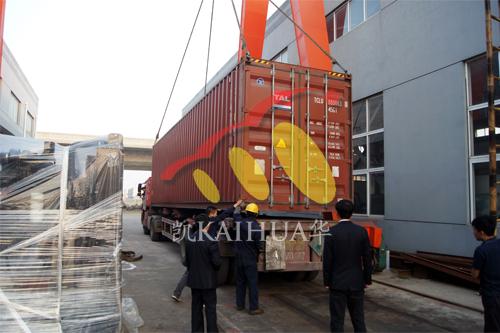 出口印尼9台柴油发电机组今日成功出厂 发货现场 第4张