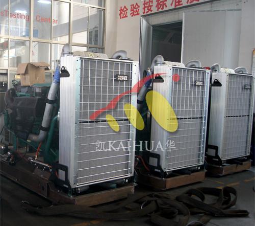 西藏阿里资源开发公司3台500KW沃尔沃近日成功交付