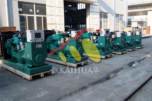 出口印尼6台康明斯发电机组今日成功出厂 发货现场 第1张