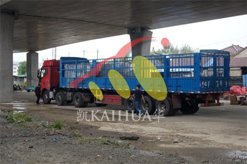 出口安哥拉3台300KW康明斯发电机组今日成功出厂 发货现场 第3张